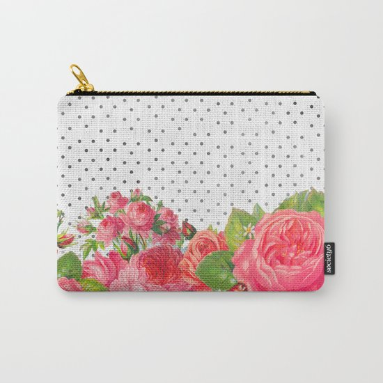 FAVORITE FLORAL Carry-All Pouch