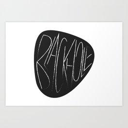 Blackhole Art Print