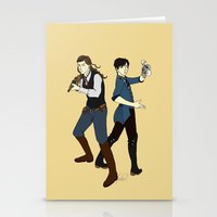 bioshock infinite Stationery Cards featuring Bioshock Infinite by Slythermint