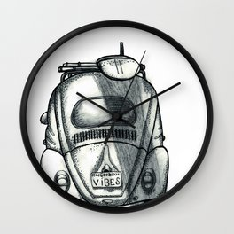 Fusca Vibes Wall Clock