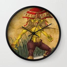 RedCap Wall Clock