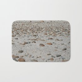 Stones on the Beach Bath Mat