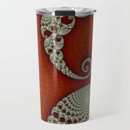 Cresting Lace Wave Travel Mug