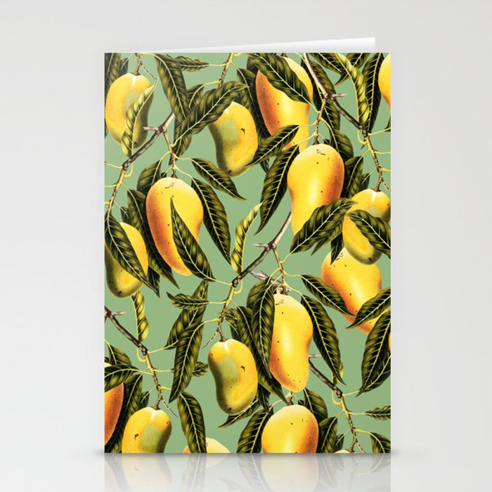Mango Season #society6 #decor #buyart Stationery Cards