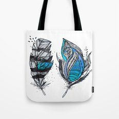 Bluish Tote Bag