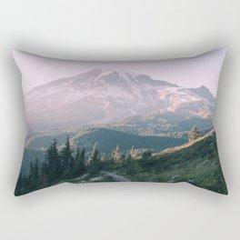 Mt. Rainier National Park Rectangular Pillow