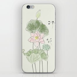 Pond of tranquility iPhone Skin