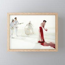 The Killing Type #5 (amanda palmer & the grand theft orchestra) Framed Mini Art Print
