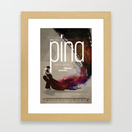 Pina movie poster redesign Framed Art Print