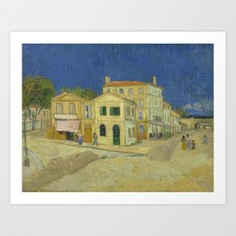 The Yellow House by Vincent van Gogh Art Print
