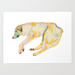 Koh Tao Dog Art Print