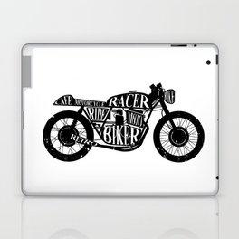Cafe racer motorcycle Laptop & iPad Skin