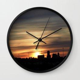 Sunset Toronto Wall Clock