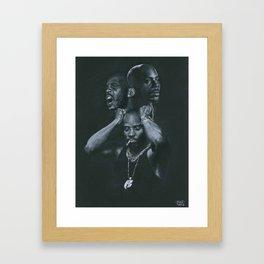 DARK MAN X Framed Art Print