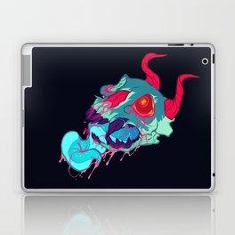 pink skull goop Laptop & iPad Skin