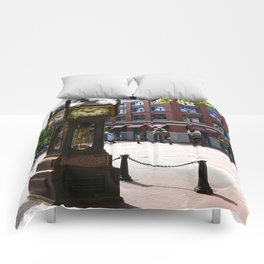 Gastown Steam Clock - Vancouver Comforters