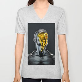 Love is the Only Gold Unisex V-Neck