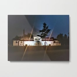 Palace at Night Metal Print