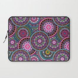 Bright Bohemian Boho Hippy Chic Pattern Laptop Sleeve