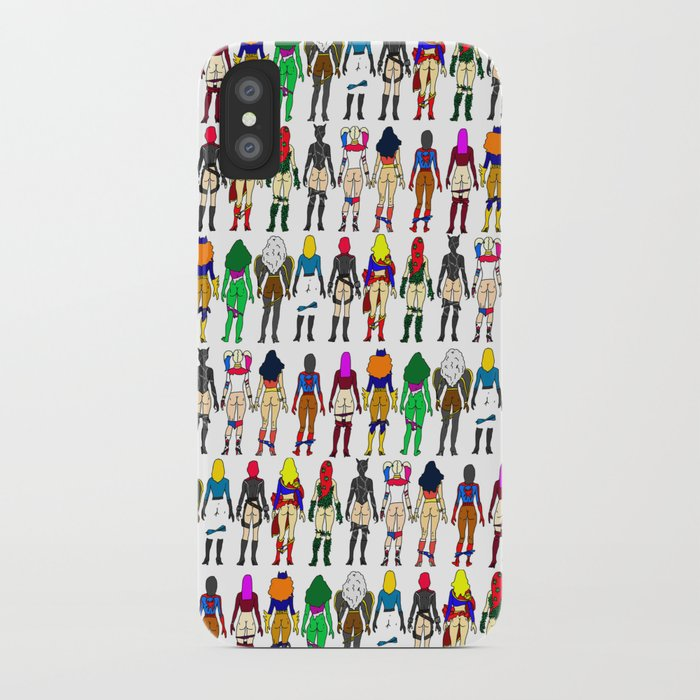 db22659b82 Superhero Butts - Girls Superheroine Butts LV iPhone Case by notsniw ...