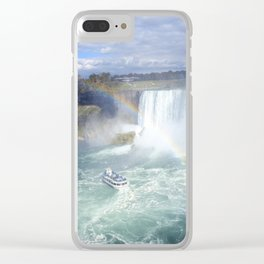 Rainbows and Mist Clear iPhone Case