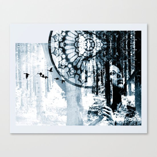 Point of no return - magic version Canvas Print