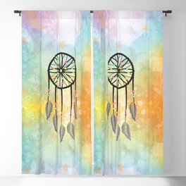 Sweet Dreams Dreamcatcher Blackout Curtain