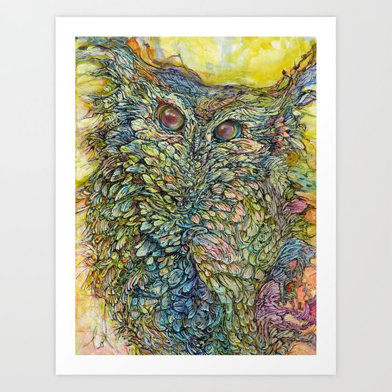 Love Bird II Art Print