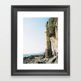 Victoria Beach Framed Art Print