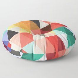 Mid-Century Modern Color Story Floor Pillow
