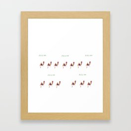 Remember to RELAX Framed Art Print