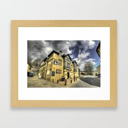 White Hart at Todmorden  Framed Art Print