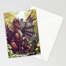 Mending the Dragon Stationery Cards