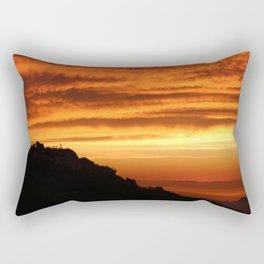 Montefiore dell'Aso Sunrise (1 of 2) Rectangular Pillow