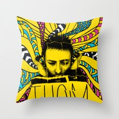 Thom Yorke Nightmare Throw Pillow