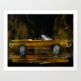 Olds Cutlass Art Print