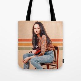 RETRO MONA Tote Bag