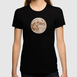 Moon Portrait 5, Linen Moon T-shirt