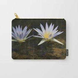 Nymphaea caerulea Carry-All Pouch