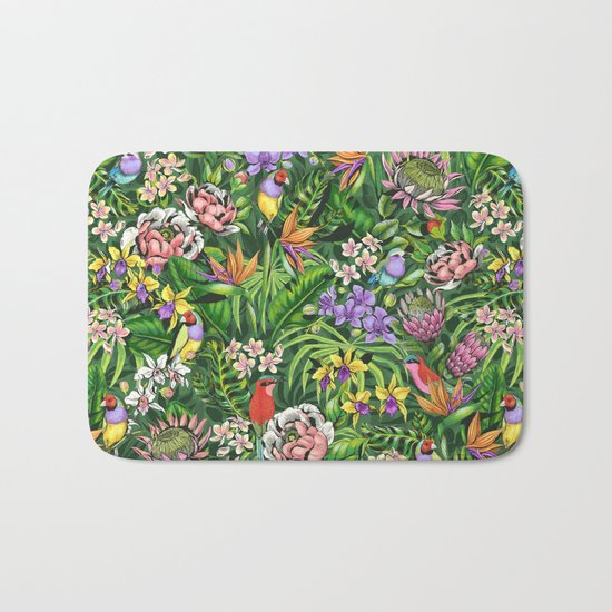 Stand out! (juicy lime) Bath Mat
