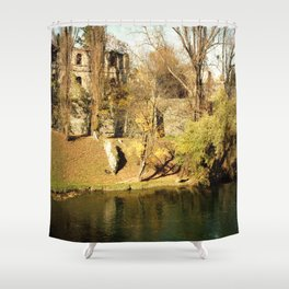 The autumn in the fort Shower Curtain