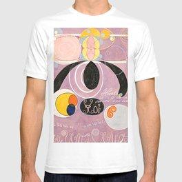 The Ten Largest, Group IV, No.6 by Hilma af Klint T-shirt
