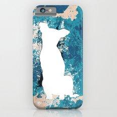 White Dog Slim Case iPhone 6s
