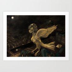 The Enigma of Paris  Art Print