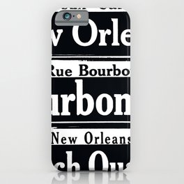 NEW ORLEANS FRENCH QUARTERS iPhone Case