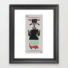 tanz Framed Art Print
