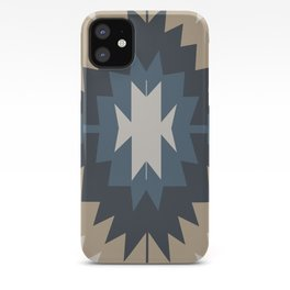 Santa Fe Southwest Native American Indian Tribal Geometric Pattern iPhone Case