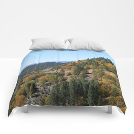 Through the mountains in the Fall.... Comforters
