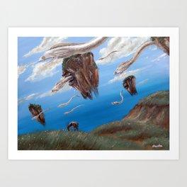 Naturschutzpark II Art Print