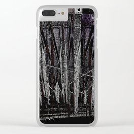 Studio Sessions 16 Clear iPhone Case